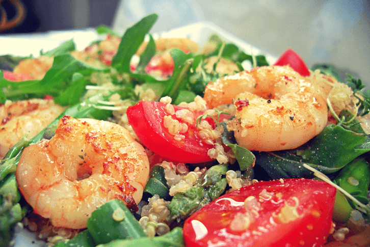 Quinoa_Spargel-Garnele