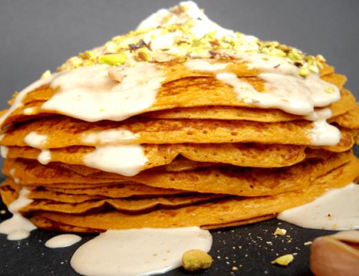 süsskartoffel-pancakes